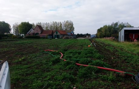 construction de nos bassins sous serres : producteur de spiruline dans les Hauts de France